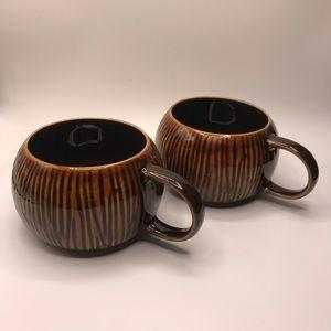 Starbucks Limited Edition 2013 Coconut Tiki Mugs